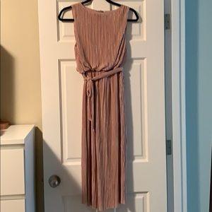 BB Dakota blush dress